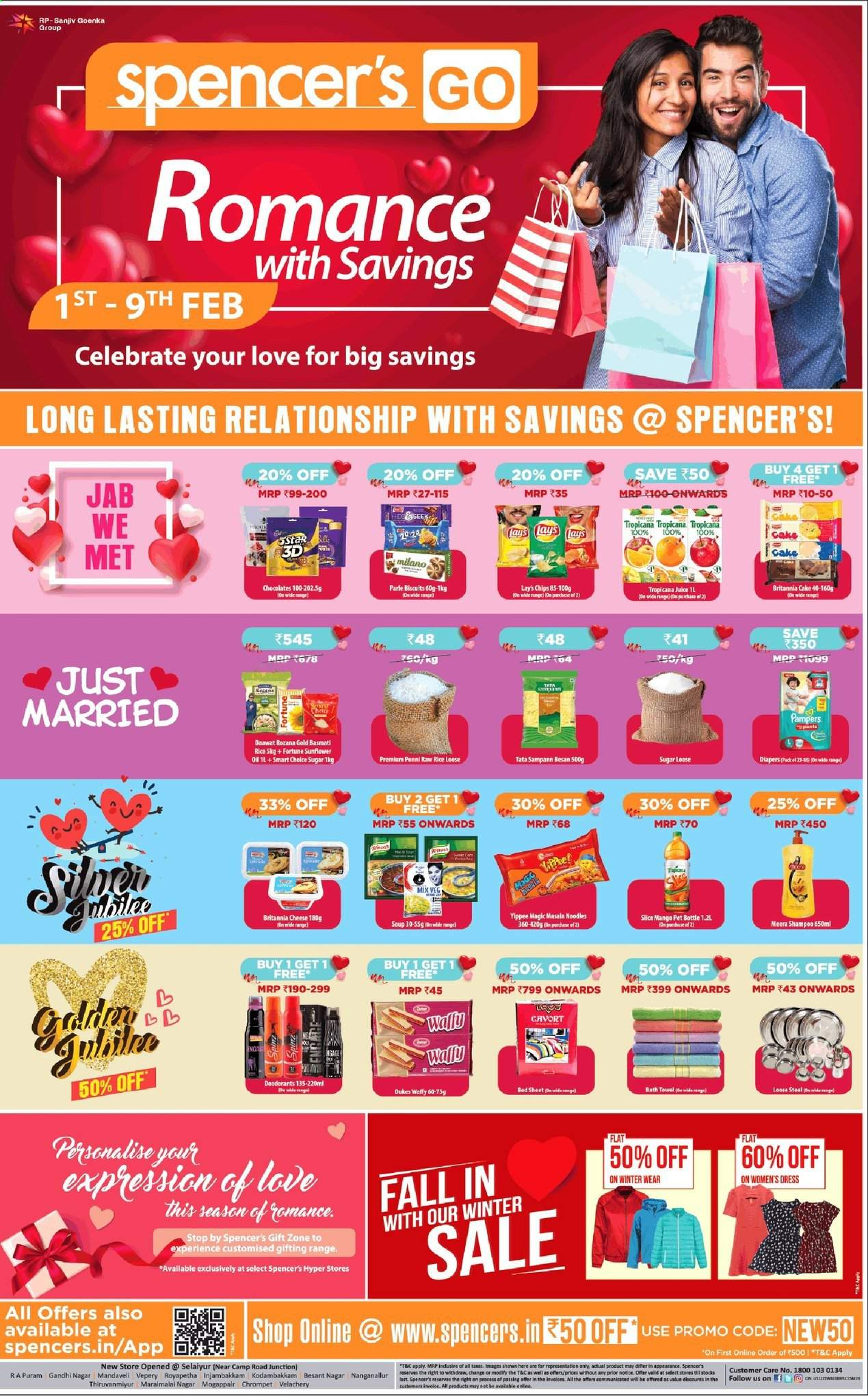 Spencer's offer  - 01.02.2020 - 09.02.2020. Page 1.