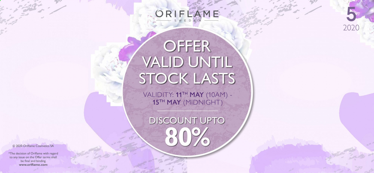Oriflame offer  - 11.05.2020 - 15.05.2020. Page 1.