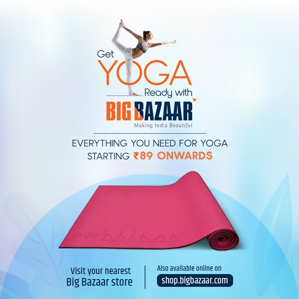 Big Bazaar offer . Page 1.