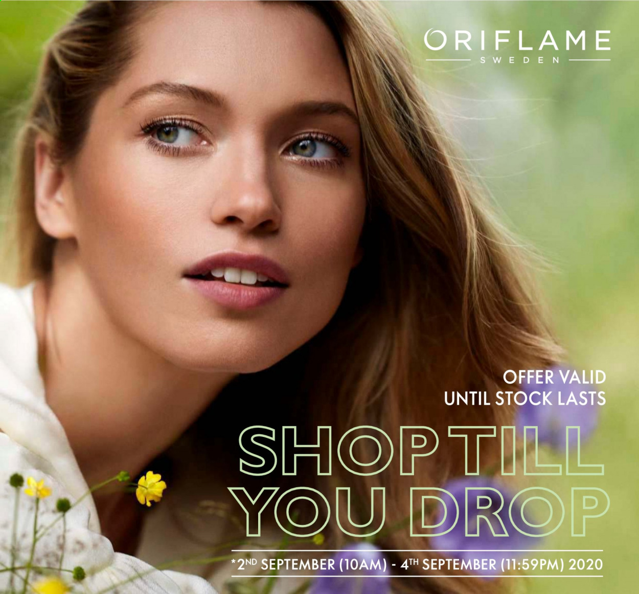 Oriflame offer  - 02.09.2020 - 04.09.2020. Page 1.