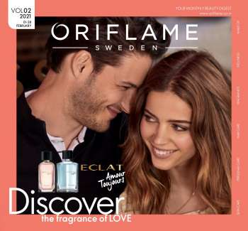 Oriflame offer  - 01.02.2021 - 28.02.2021.