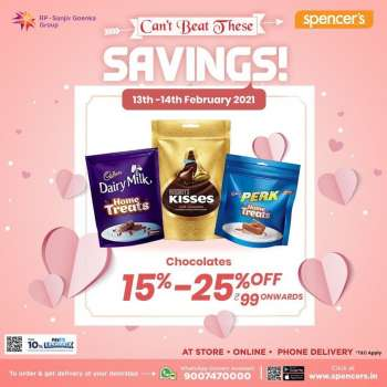Spencer's offer  - 13.02.2021 - 14.02.2021.