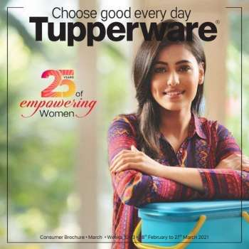 Tupperware offer  - 28.02.2021 - 27.03.2021.