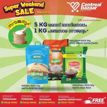 Centreal Bazaar offer  - 19.03.2021 - 21.03.2021.