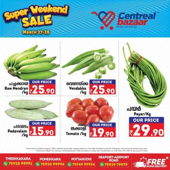 Centreal Bazaar offer  - 27.03.2021 - 28.03.2021.