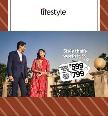 Lifestyle offer .