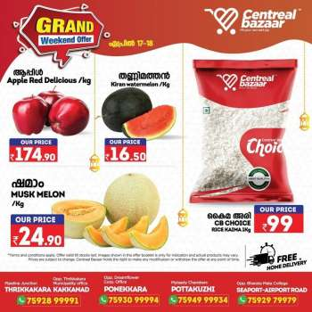 Centreal Bazaar offer  - 17.04.2021 - 18.04.2021.