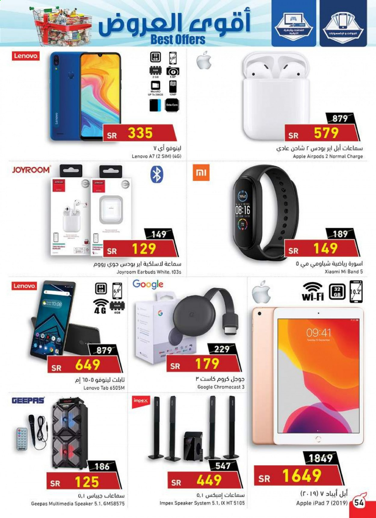 <retailer> - <MM.DD.YYYY - MM.DD.YYYY> - Sales products - ,<products from offers>. Page 54.