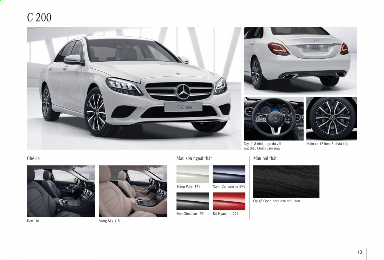 Mercedes-Benz offer . Page 13.
