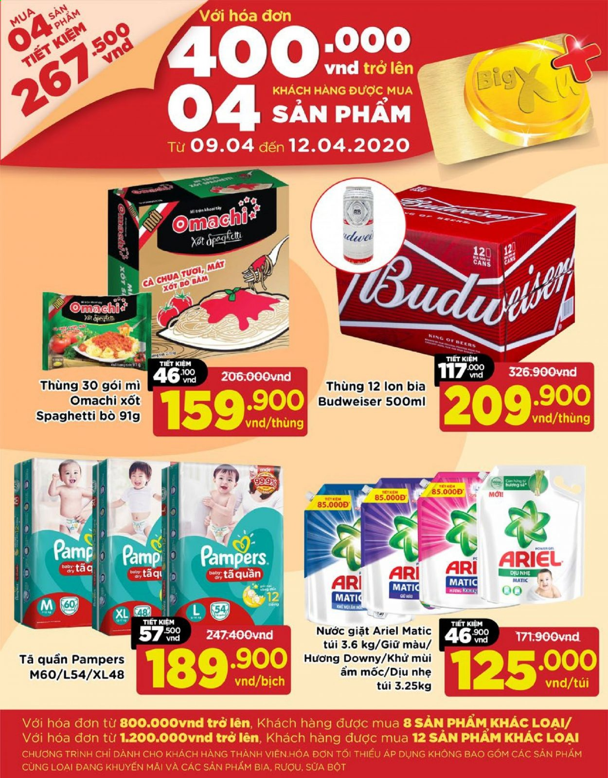 Big C offer  - 9.4.2020 - 12.4.2020. Page 1.
