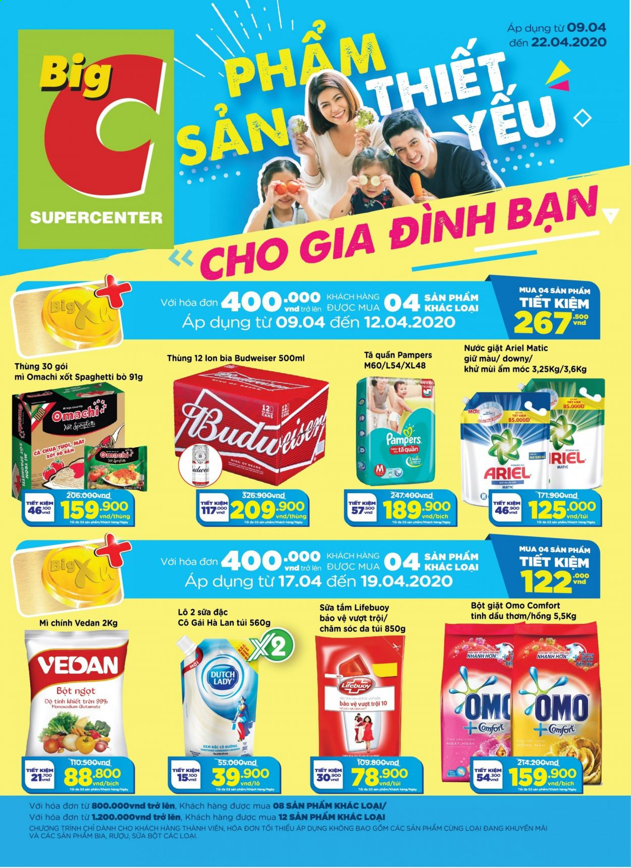Big C offer  - 9.4.2020 - 22.4.2020. Page 1.