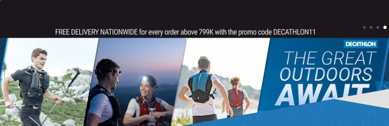 Decathlon offer . Page 3.