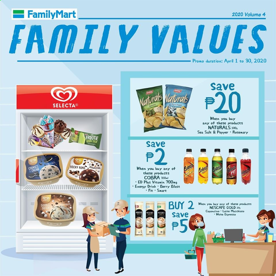 FamilyMart offer  - 1.4.2020 - 30.4.2020. Page 2.