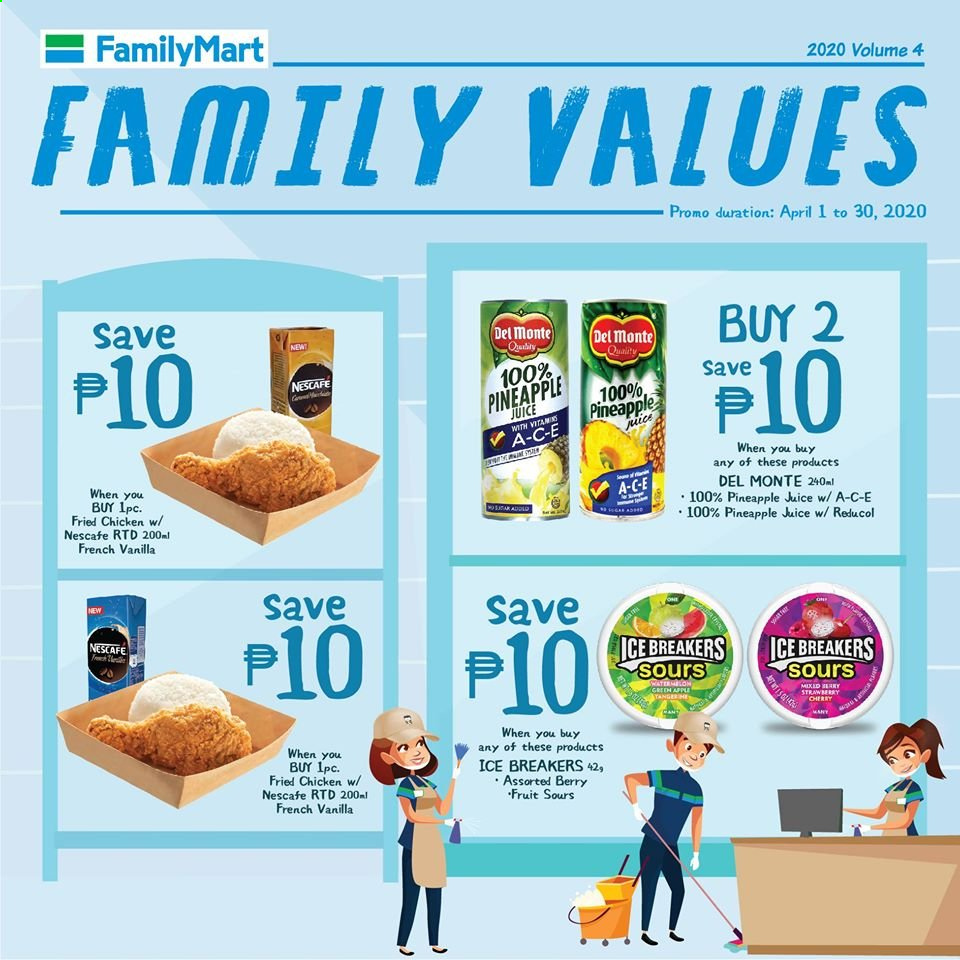 FamilyMart offer  - 1.4.2020 - 30.4.2020. Page 3.