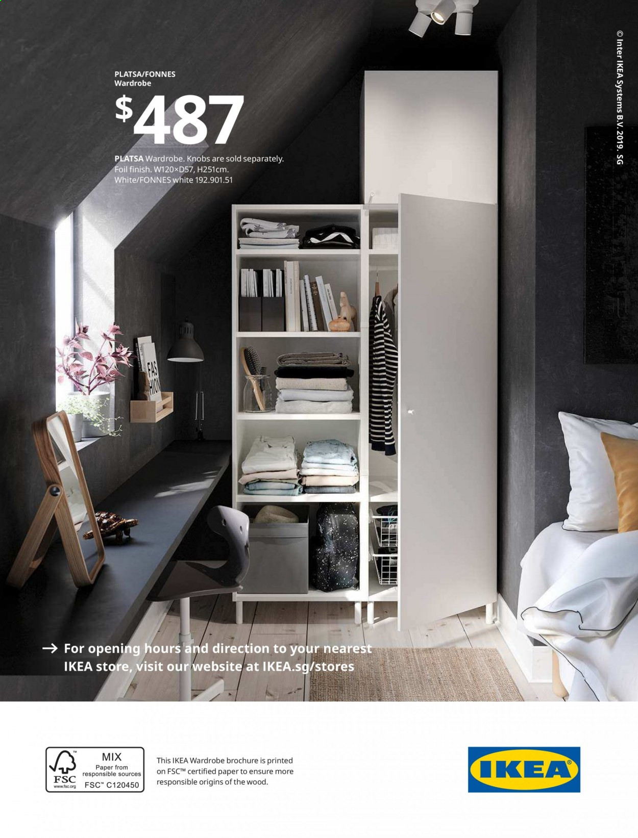 IKEA offer  - 1.4.2020 - 31.7.2020 - Sales products - wardrobe, paper. Page 36.