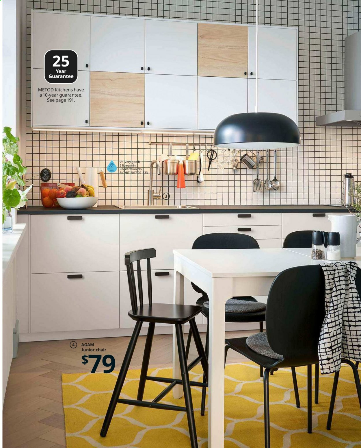 IKEA offer  - Sales products - cabinet, door, drawer, drawer fronts, lid, mixer, handles, chair, junior chair, powder, puzzle. Page 41.