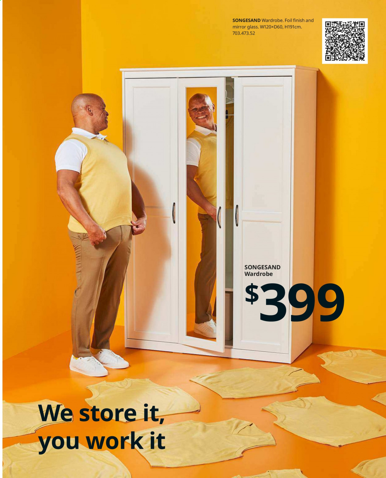 IKEA offer  - Sales products - glass, mirror, wardrobe. Page 87.