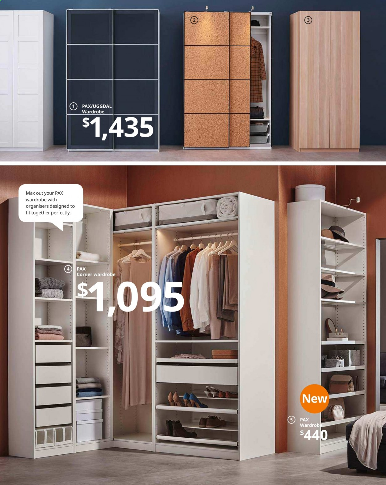 IKEA offer  - Sales products - box, drawer, glass, mirror, wardrobe, handles, hook. Page 90.