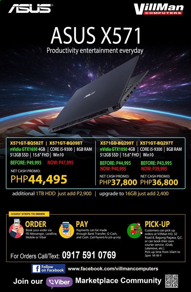 VillMan offer  - Sales products - Asus, book. Page 1.