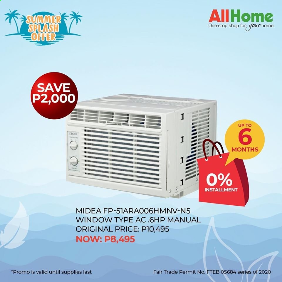 AllHome offer  - Sales products - Midea. Page 1.