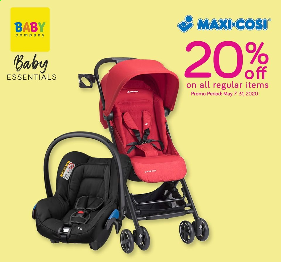 Baby Company offer  - Sales products - Maxi-Cosi. Page 6.