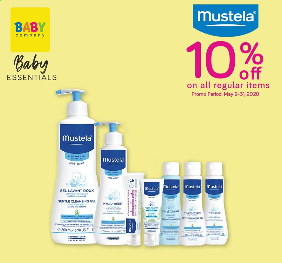 Baby Company offer  - Sales products - body lotion. Page 7.