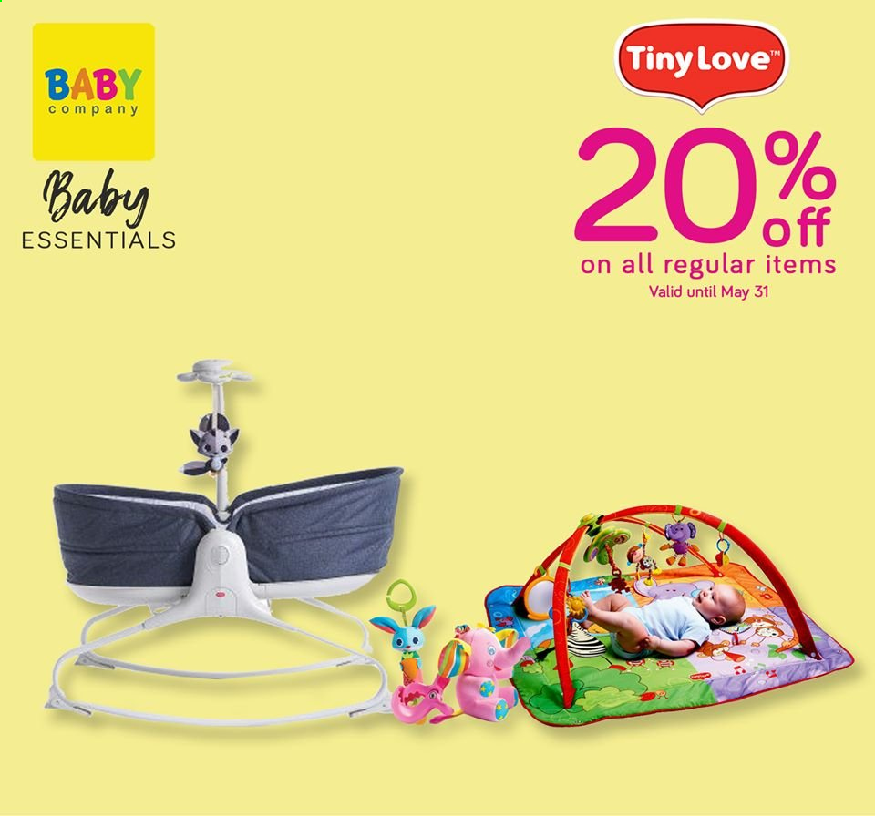 Baby Company offer  - Sales products - Tiny Love. Page 3.