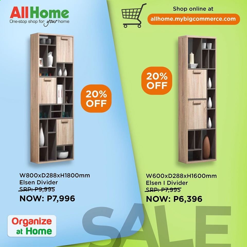 AllHome offer . Page 1.
