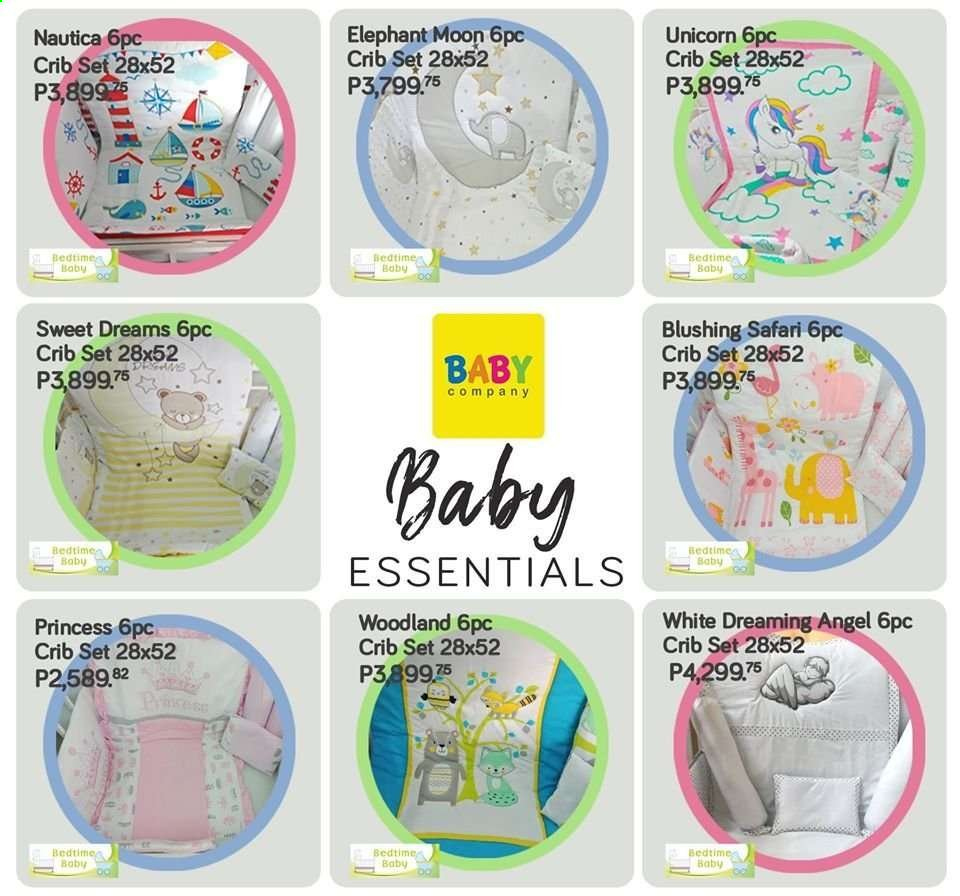 Baby Company offer  - Sales products - crib, princess. Page 43.