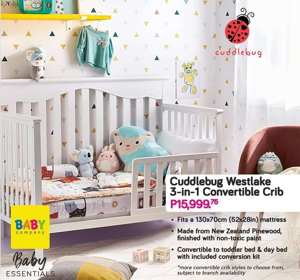 Baby Company offer  - Sales products - crib, paint. Page 45.