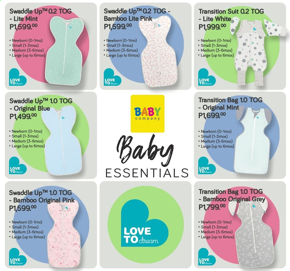 Baby Company offer  - Sales products - bag. Page 25.