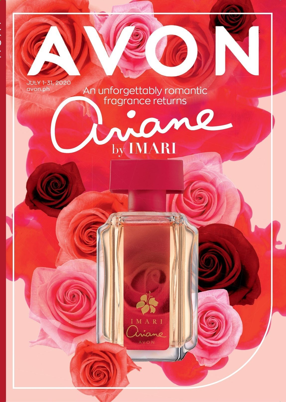 Avon offer  - 1.7.2020 - 31.7.2020 - Sales products - Avon, fragrance, Imari. Page 1.