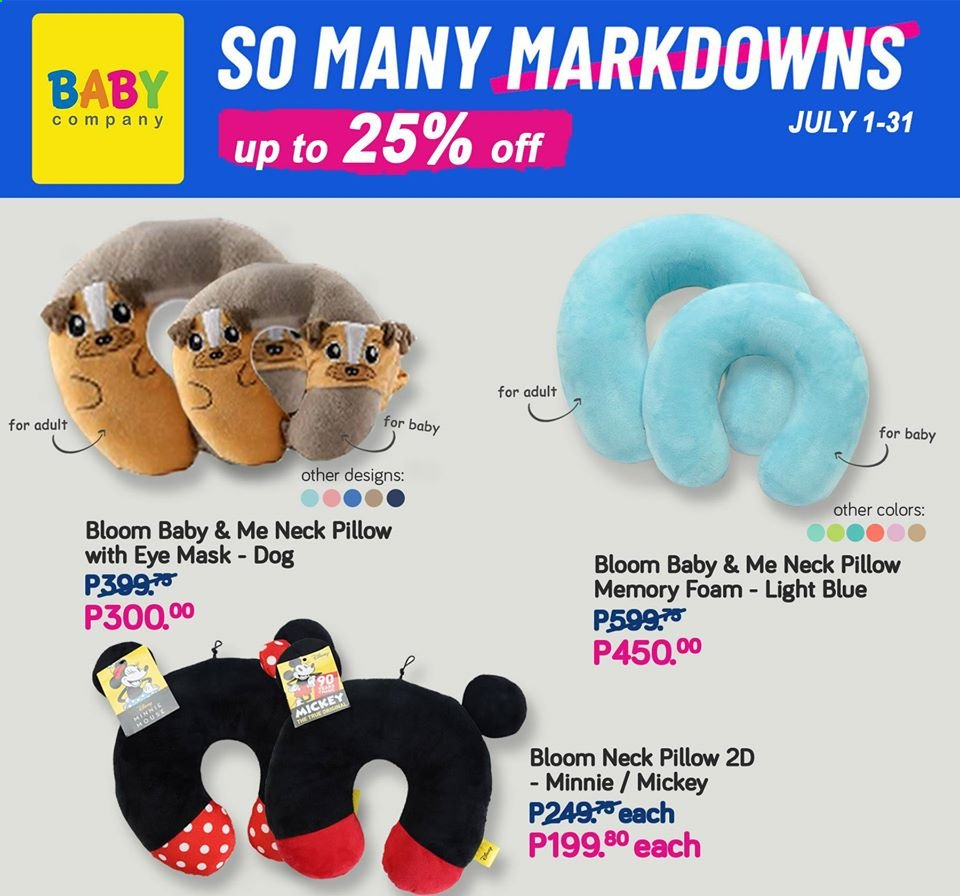Baby Company offer  - 1.7.2020 - 31.7.2020 - Sales products - Mickey Mouse, Minnie Mouse. Page 59.