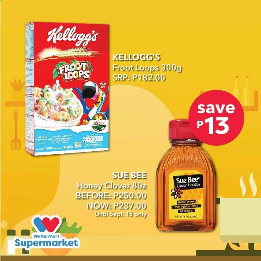 Walter Mart offer  - Sales products - honey. Page 2.