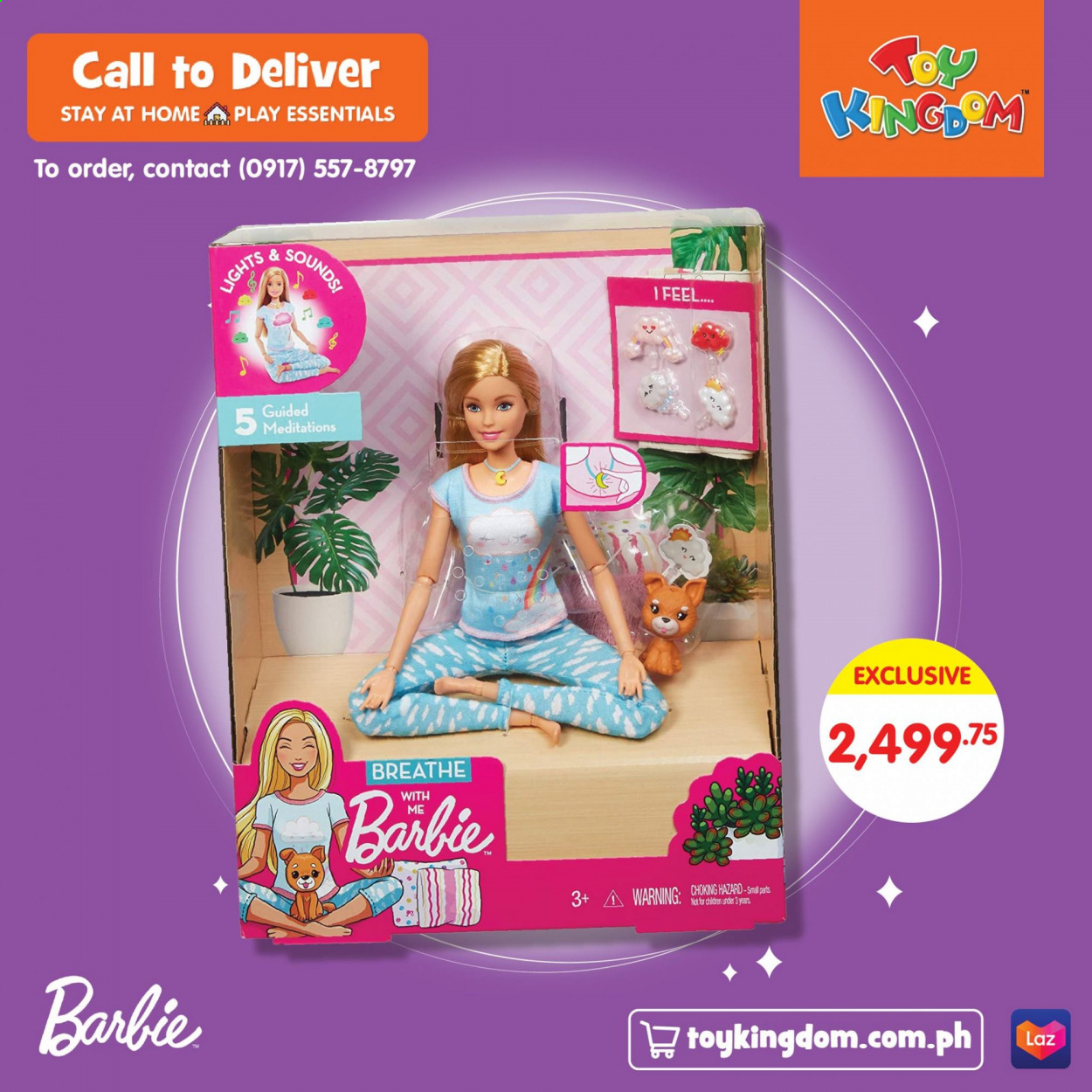 Toy Kingdom offer  - Sales products - Barbie. Page 4.