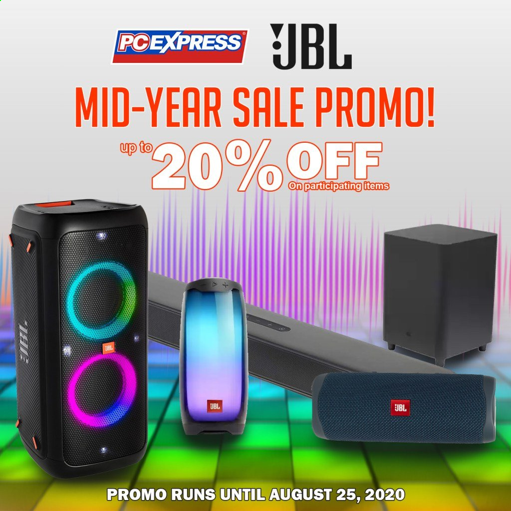 PC Express offer  - 23.8.2020 - 25.8.2020 - Sales products - jbl. Page 1.