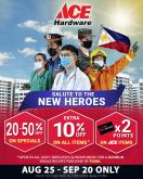 ACE Hardware offer  - 25.8.2020 - 20.9.2020.