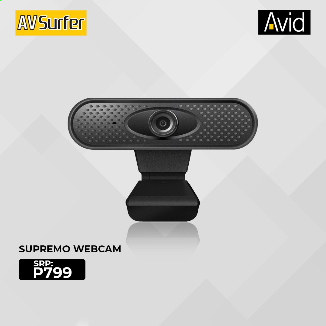 Avid offer  - Sales products - webcam. Page 1.