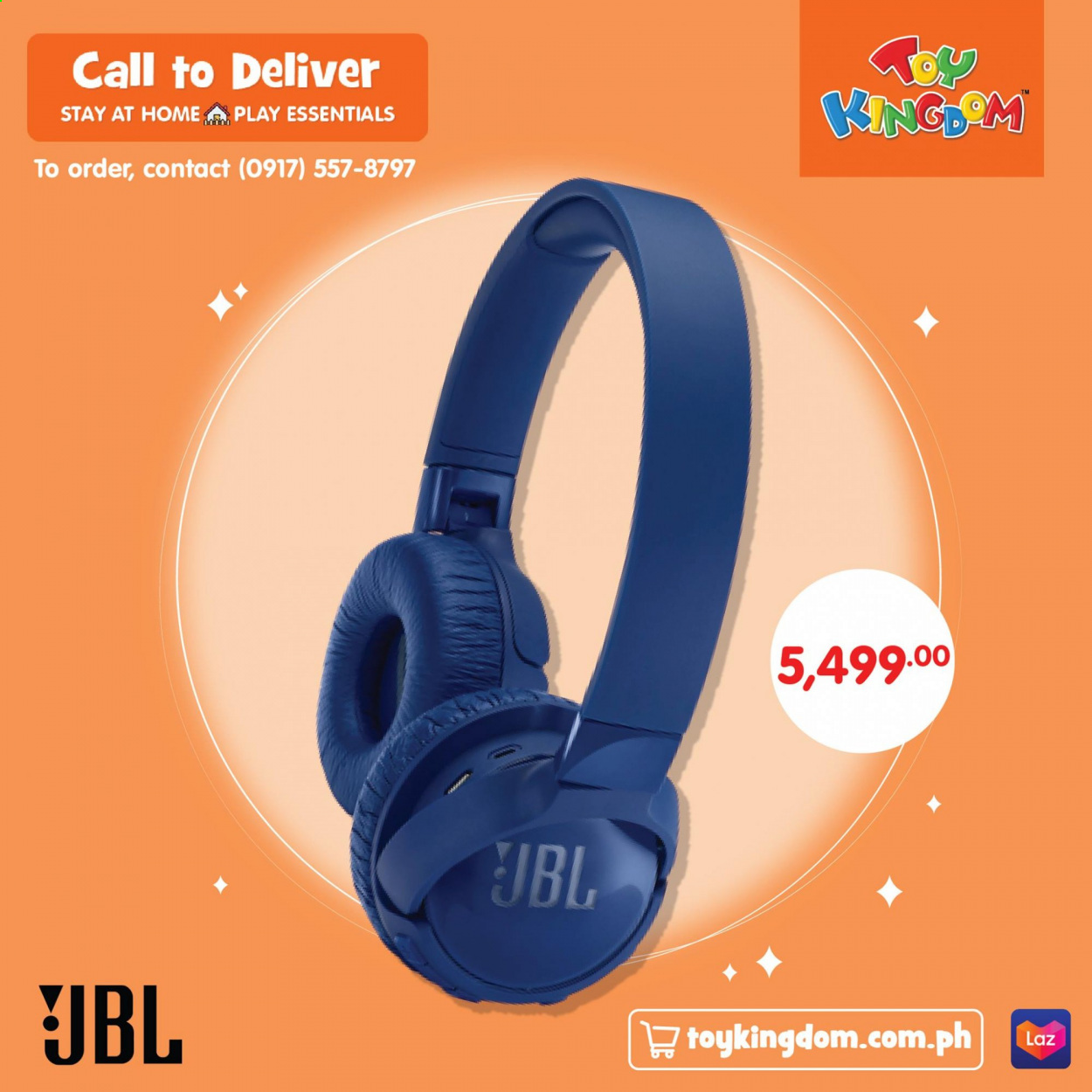 Toy Kingdom offer  - Sales products - JBL. Page 11.