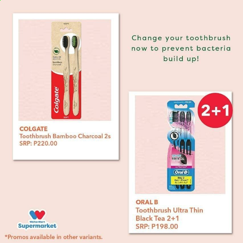 Walter Mart offer  - Sales products - bamboo, colgate, tea, toothbrush, charcoal, oral-b. Page 2.