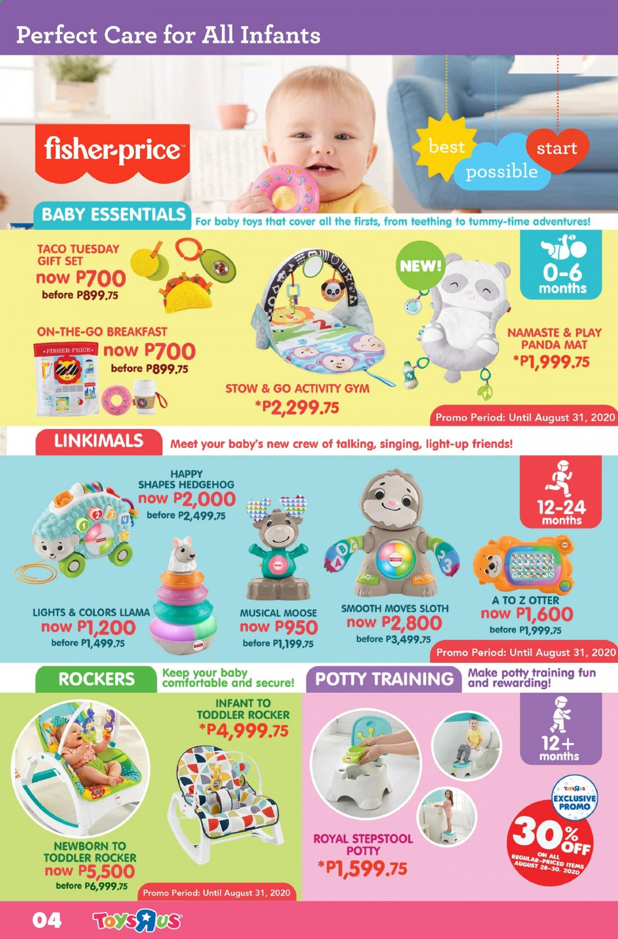 "Toys""R""Us offer  - Sales products - toys, Fisher-Price, panda. Page 4."