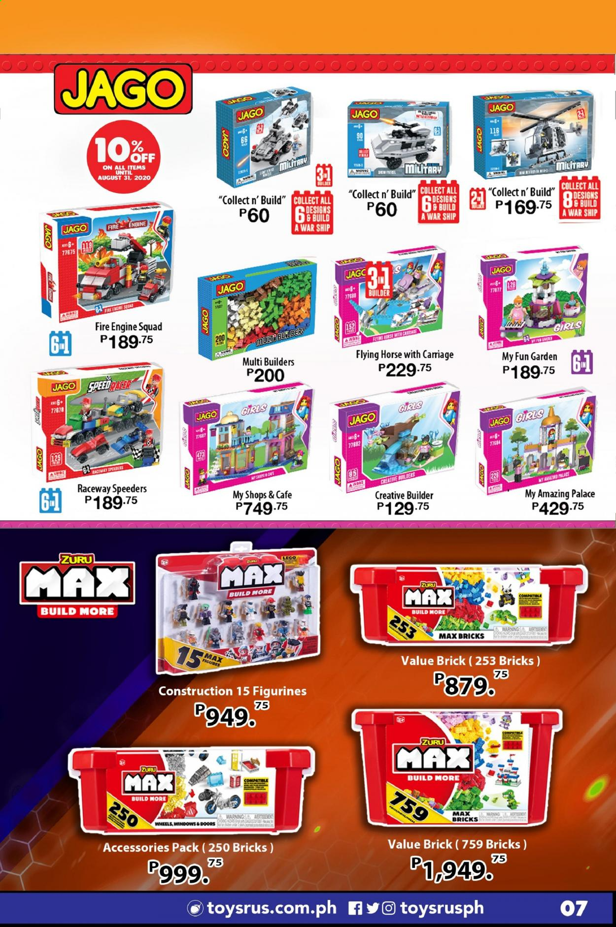 "Toys""R""Us offer  - Sales products - LEGO, Zuru, bricks. Page 25."