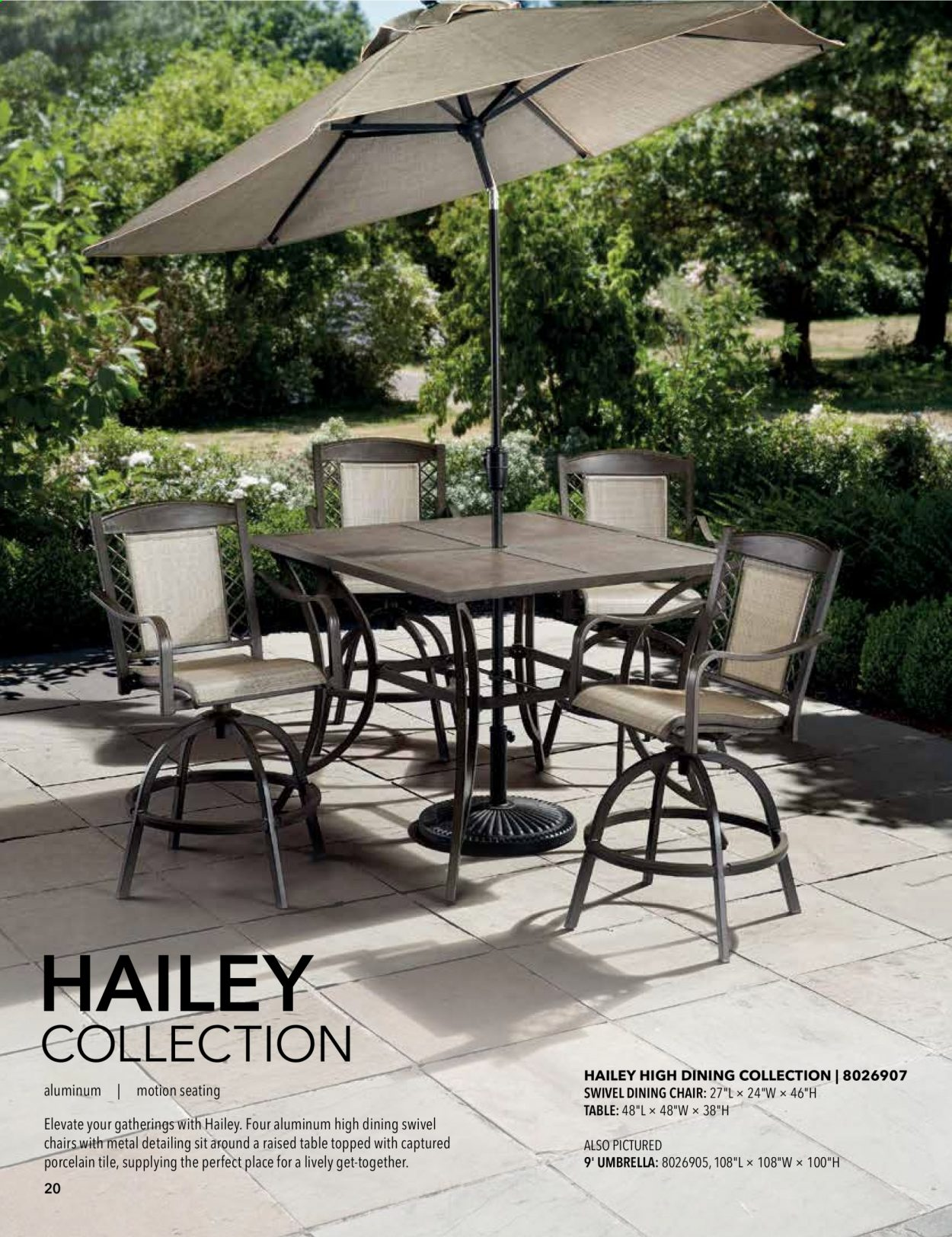 ACE Hardware offer  - 2.9.2020 - 31.12.2020 - Sales products - dining table, table, chair, dining chair. Page 20.
