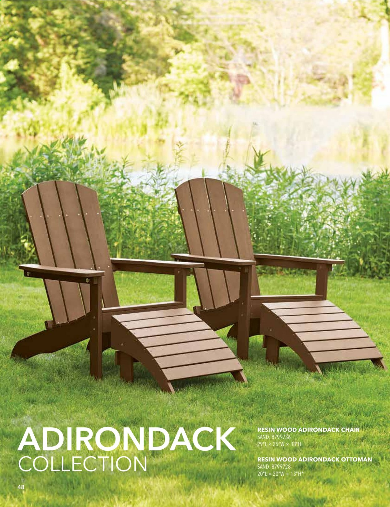 ACE Hardware offer  - 2.9.2020 - 31.12.2020 - Sales products - chair, ottoman. Page 48.