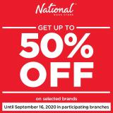 National Book Store offer  - 3.9.2020 - 16.9.2020.
