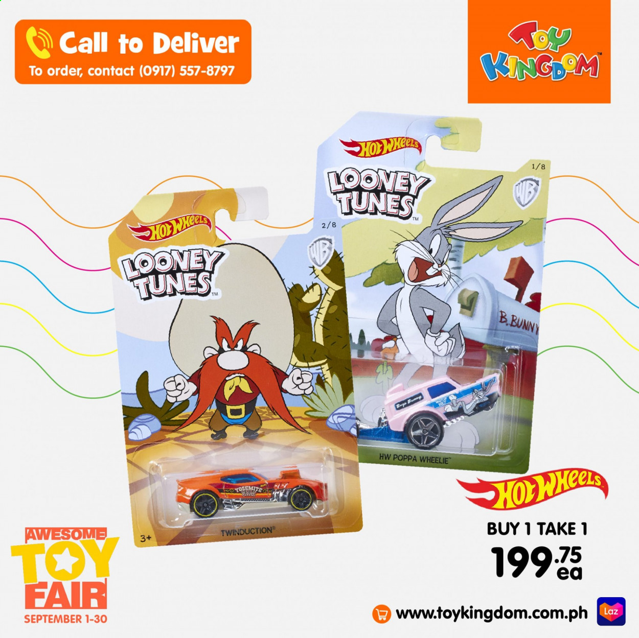 Toy Kingdom offer  - 1.9.2020 - 30.9.2020 - Sales products - toys. Page 18.