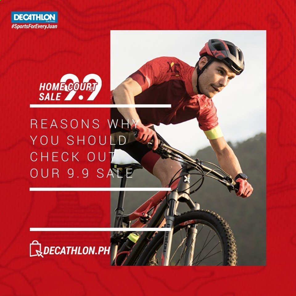 Decathlon offer  - 4.9.2020 - 9.9.2020. Page 1.