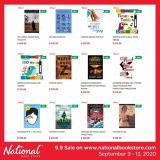 National Book Store offer  - 9.9.2020 - 13.9.2020.