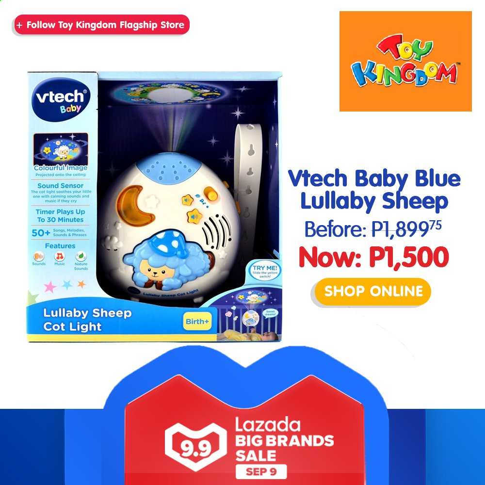 Toy Kingdom offer  - 9.9.2020 - 9.9.2020 - Sales products - Vtech, toys. Page 32.