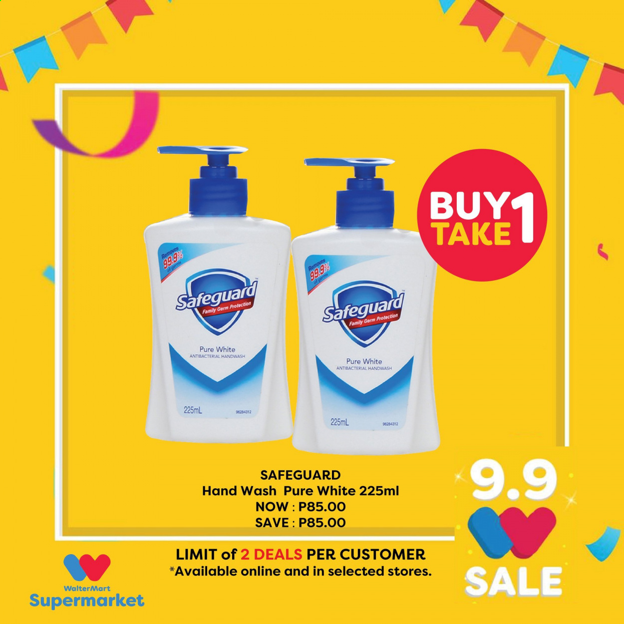 Walter Mart offer  - 9.9.2020 - 9.9.2020. Page 3.